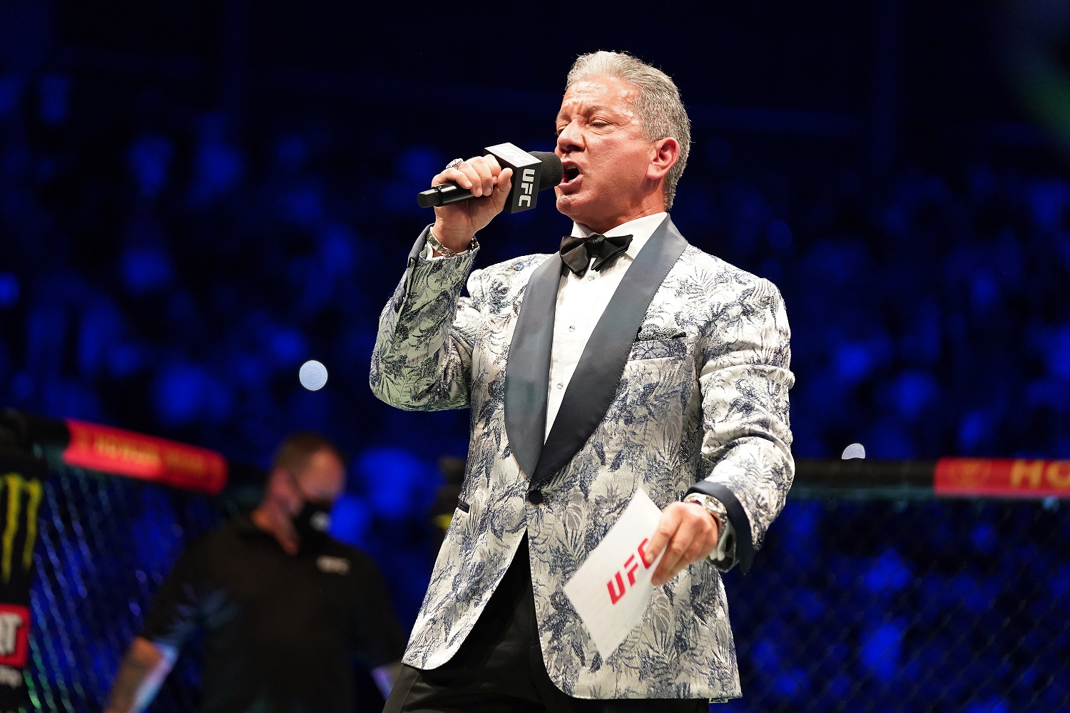 UFC Announcer Bruce Buffer's Introduction of a Newborn Baby Is Epic