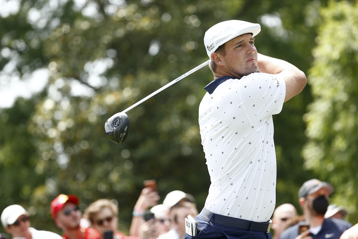 Bryson DeChambeau Turned a Potentially Disastrous Blunder Into a $228,000 Payday at the Wells Fargo Championship