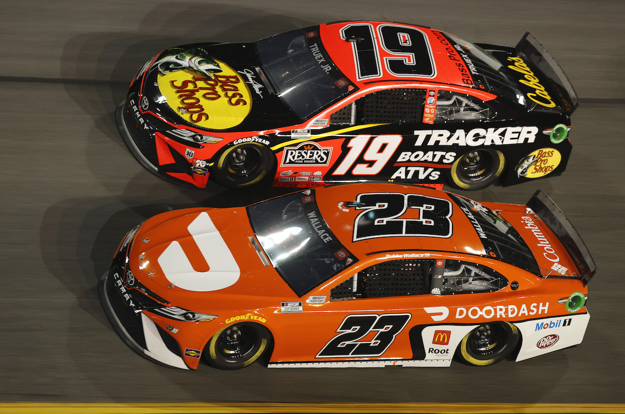 Bubba Wallace Received Warning Shot From Martin Truex Jr. at Darlington: 'He Better Get His S*** Together'