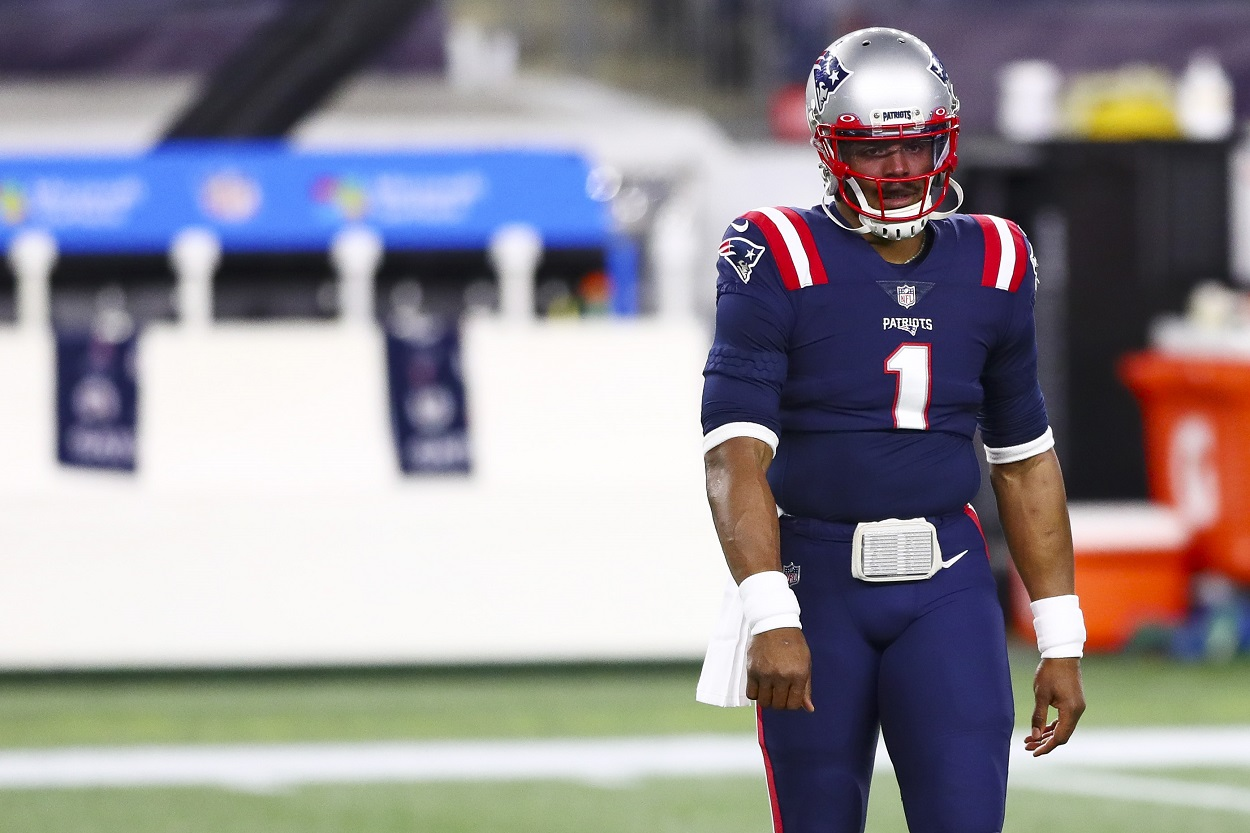 Cam Newton Is Going the Extra Mile to Remain the Patriots' Starting Quarterback