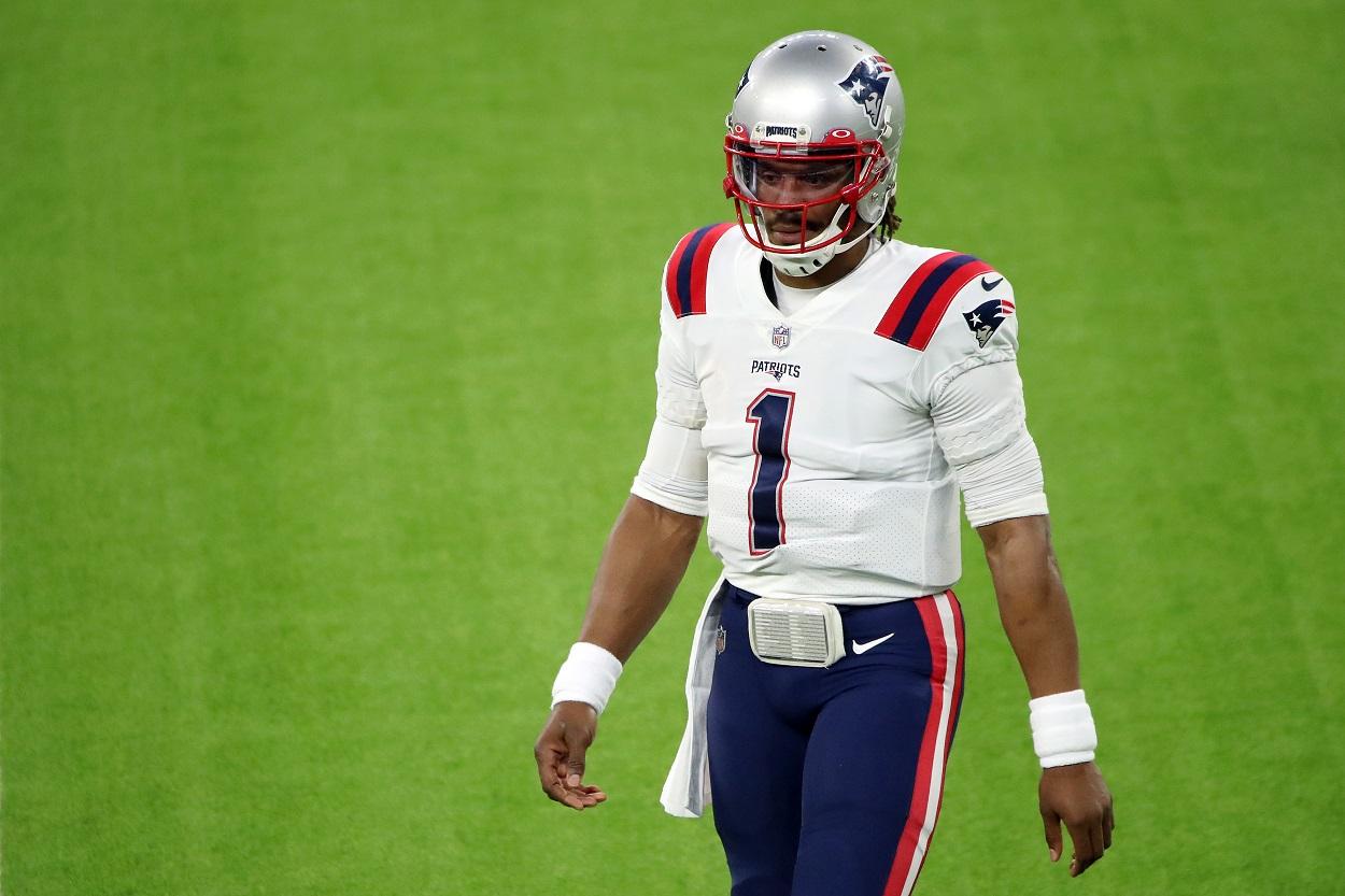 Cam Newton Unloads Subtle Message After Patriots Draft Mac Jones
