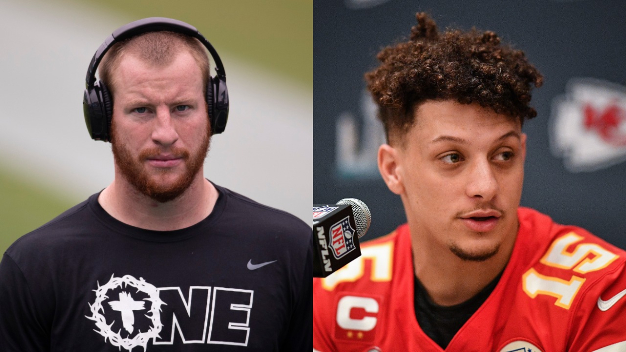 Carson Wentz and the Colts May Soon Steal Patrick Mahomes' Pro Bowl Teammate