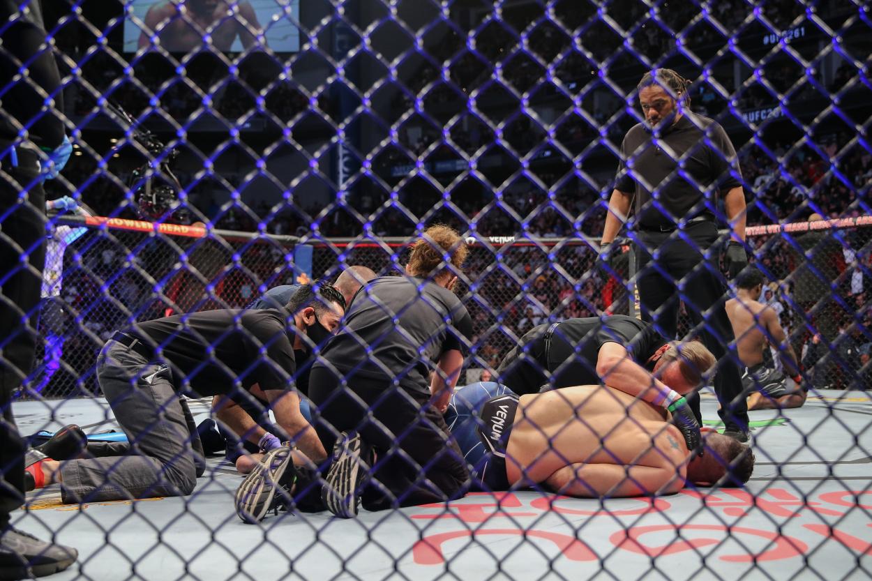UFC Star Chris Weidman Can't Help But Fear the Worst After Gruesome Broken Leg