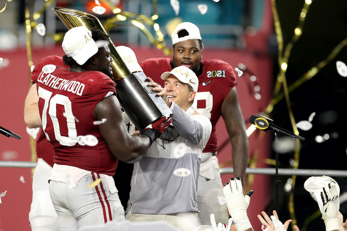 Nick Saban Feels 'Like a Proud Papa' After Alabama Ties the Record for the Most 1st-Round Draft Picks