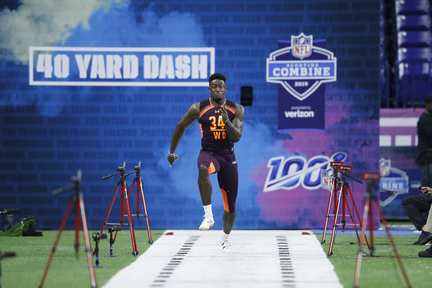 Seattle Seahawks Speedster DK Metcalf Looks to Add His Name to NFL's Long Legacy of Standout Sprinters