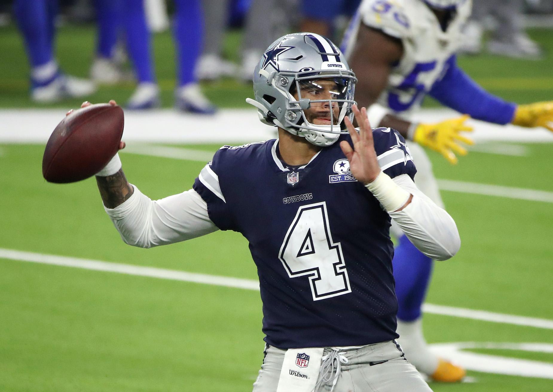 Dak Prescott Is Already Favored to Win a Specific Piece of NFL Silverware in 2021