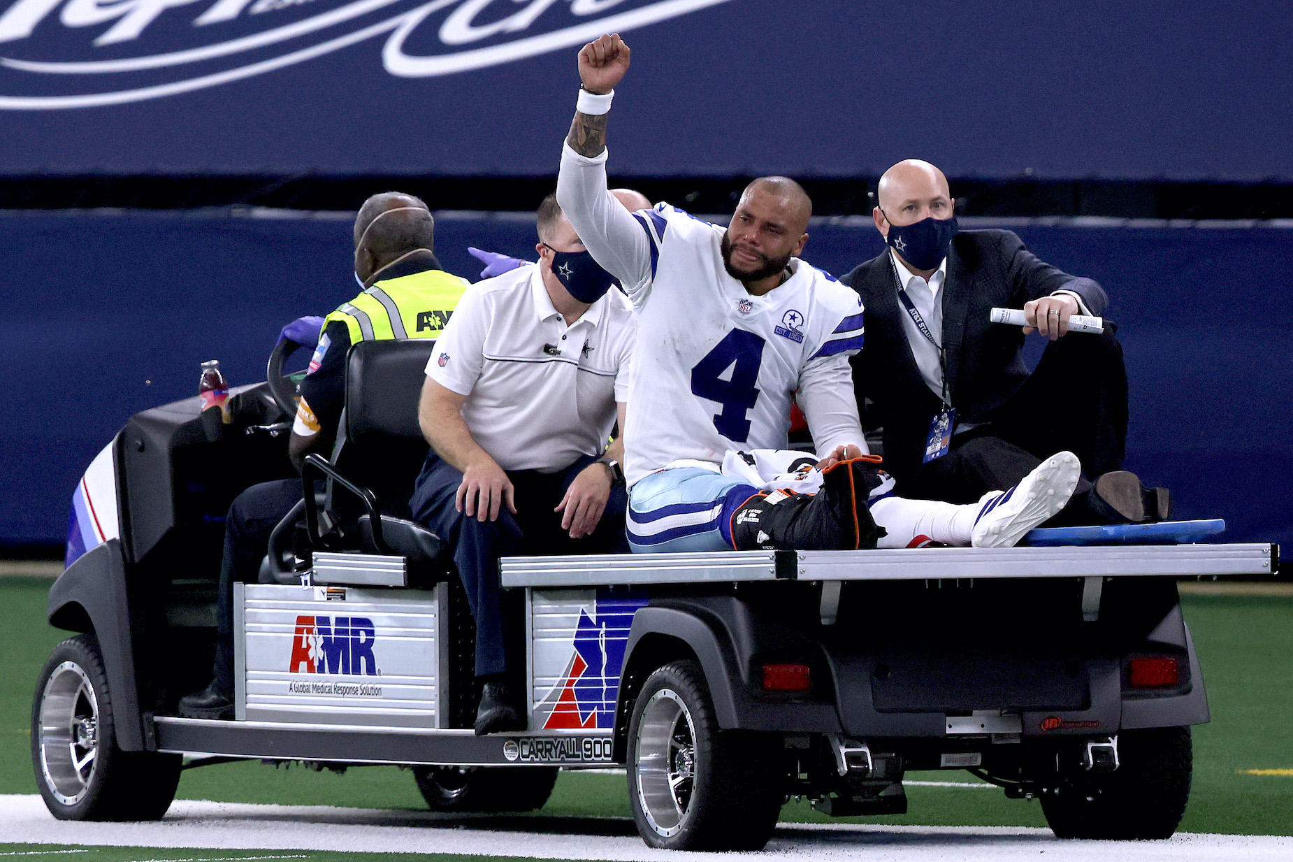 Dak Prescott Recalls Exactly How It Felt to Suffer a Season-Ending Ankle Injury: 'I Just Wanted to Get Off the Field So Bad, and I Couldn't'