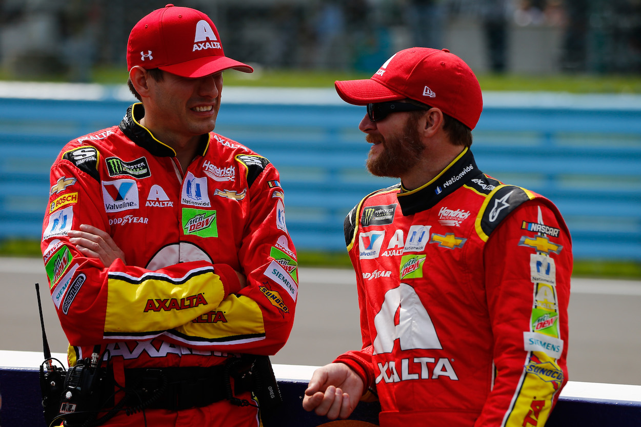 Dale Earnhardt Jr. Followed in His Father's Footsteps, Including Some Bad Habits Like the Inability to 'Shut Up' and Listen