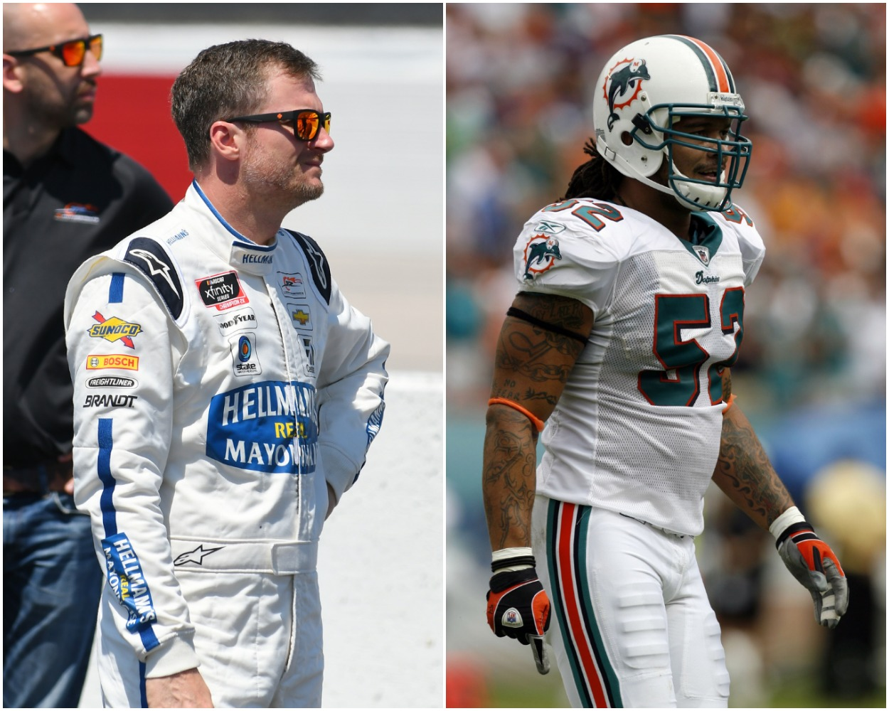 Dale Earnhardt Jr. Impressively Converted Former NFL Player Channing Crowder Into a Believer That NASCAR Drivers Are Athletes