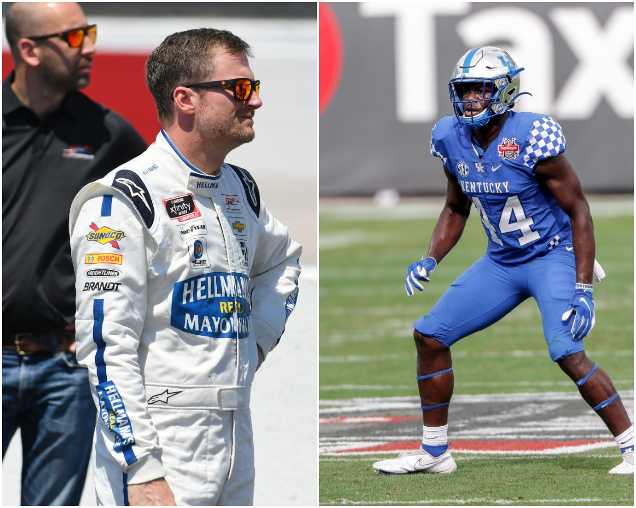 Dale Earnhardt Jr. Makes Surprise Call to Washington Football Team First-Round Pick Jamin Davis at Request of Head Coach Ron Rivera