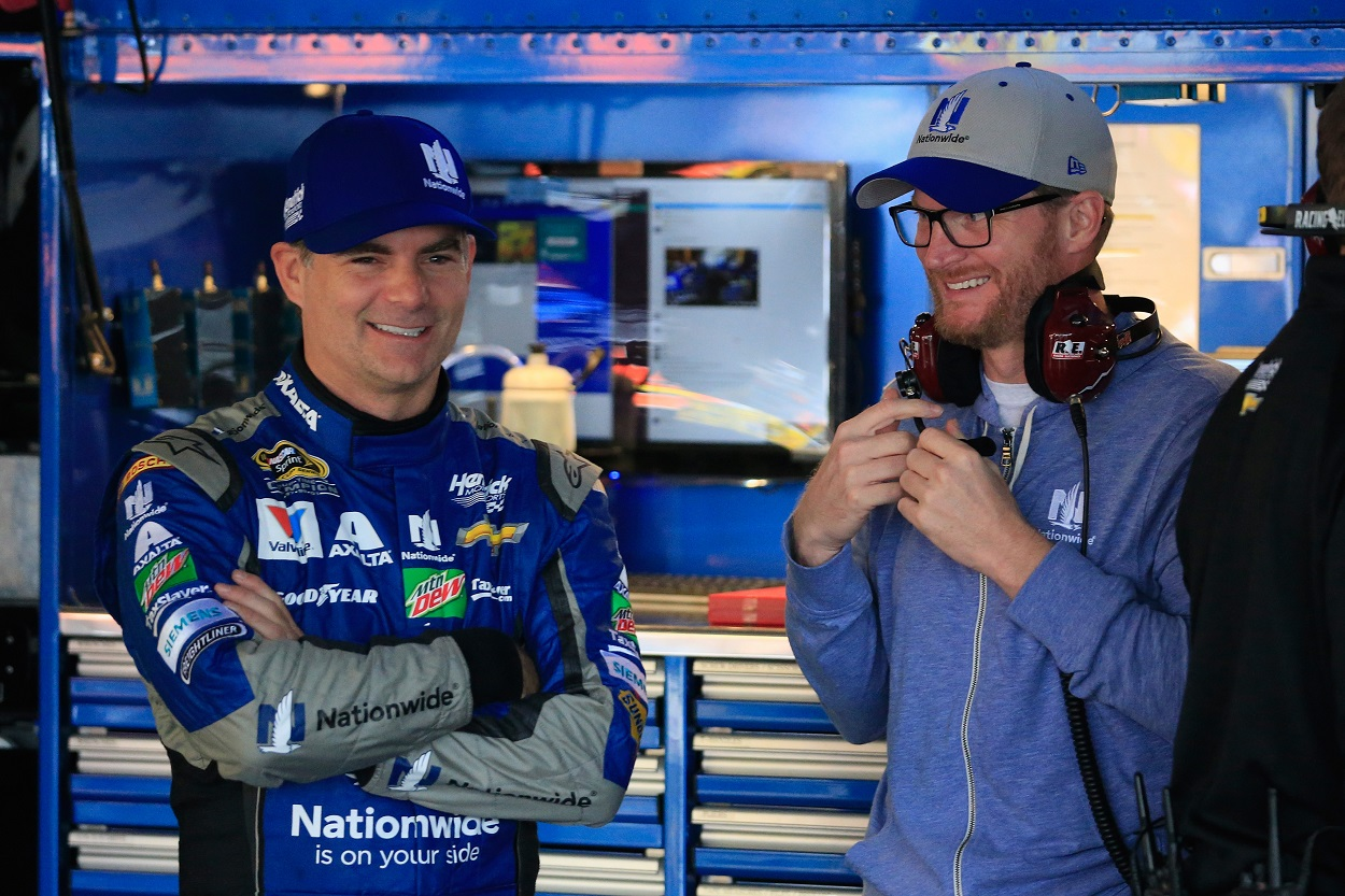 Dale Earnhardt Jr. Shocked to Find Out He Pissed off Jeff Gordon at 2006 Daytona Race