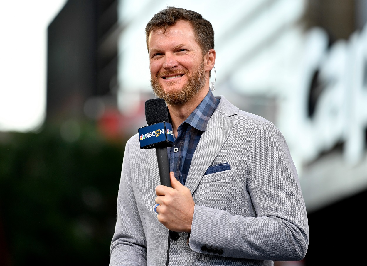 Dale Earnhardt Jr. Brought His Tasty NASCAR Racing Ritual With Him to the Broadcast Booth