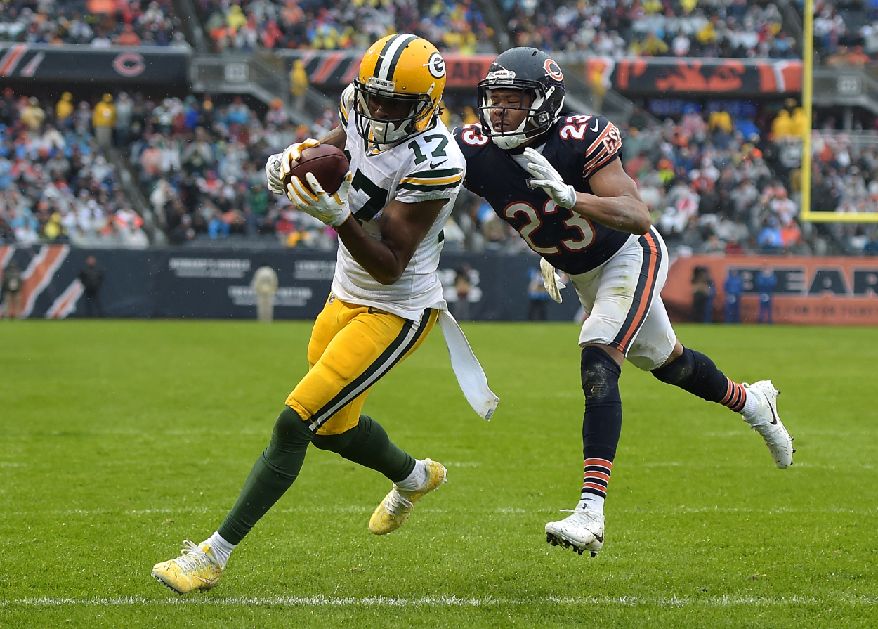 Davante Adams Seemingly Joins Aaron Rodgers vs. Packers Feud With Cryptic Messages