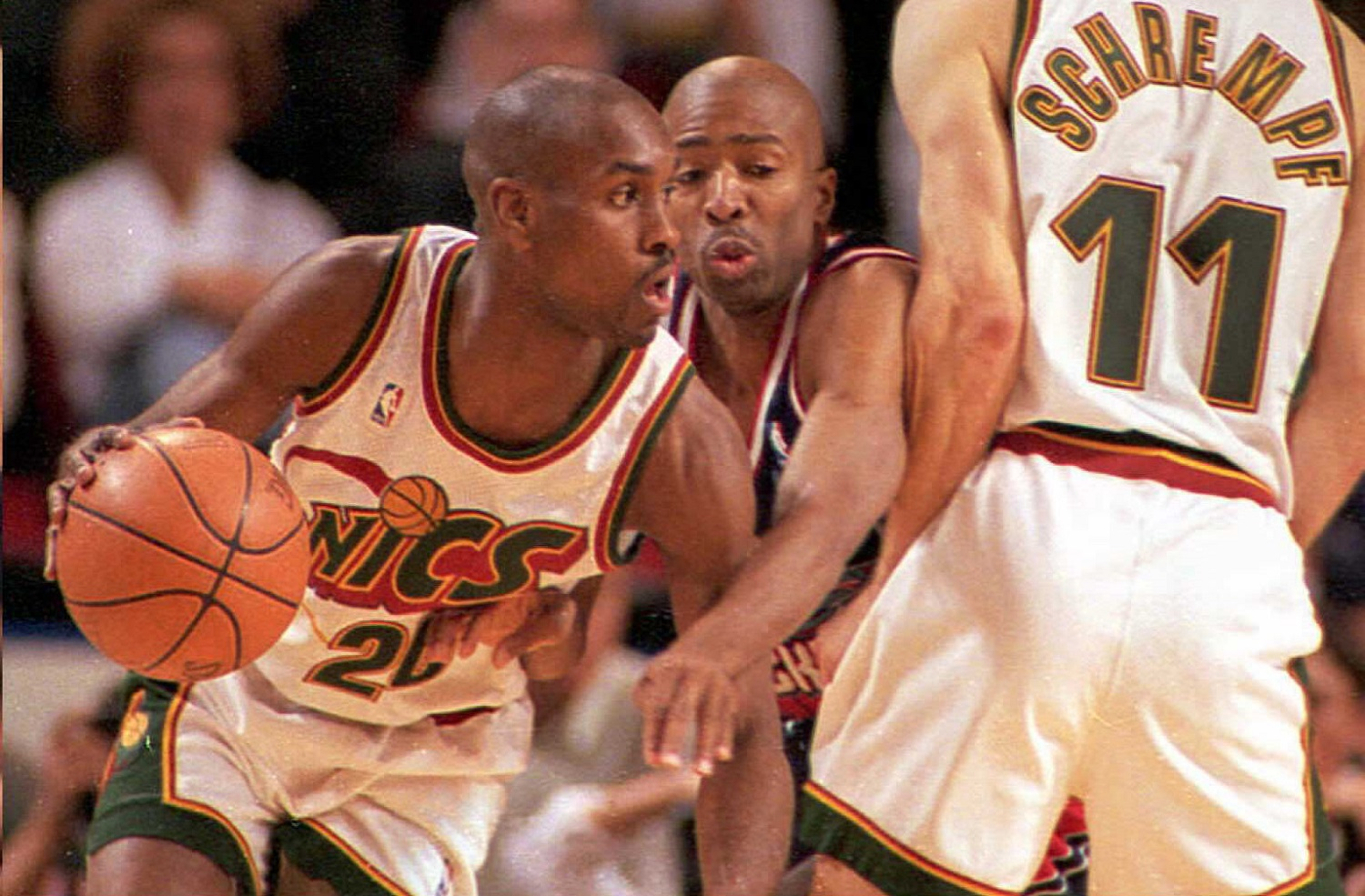Gary Payton does not have fond memories of seven-plus seasons playing for George Karl. | Dan Levine/AFP via Getty Images