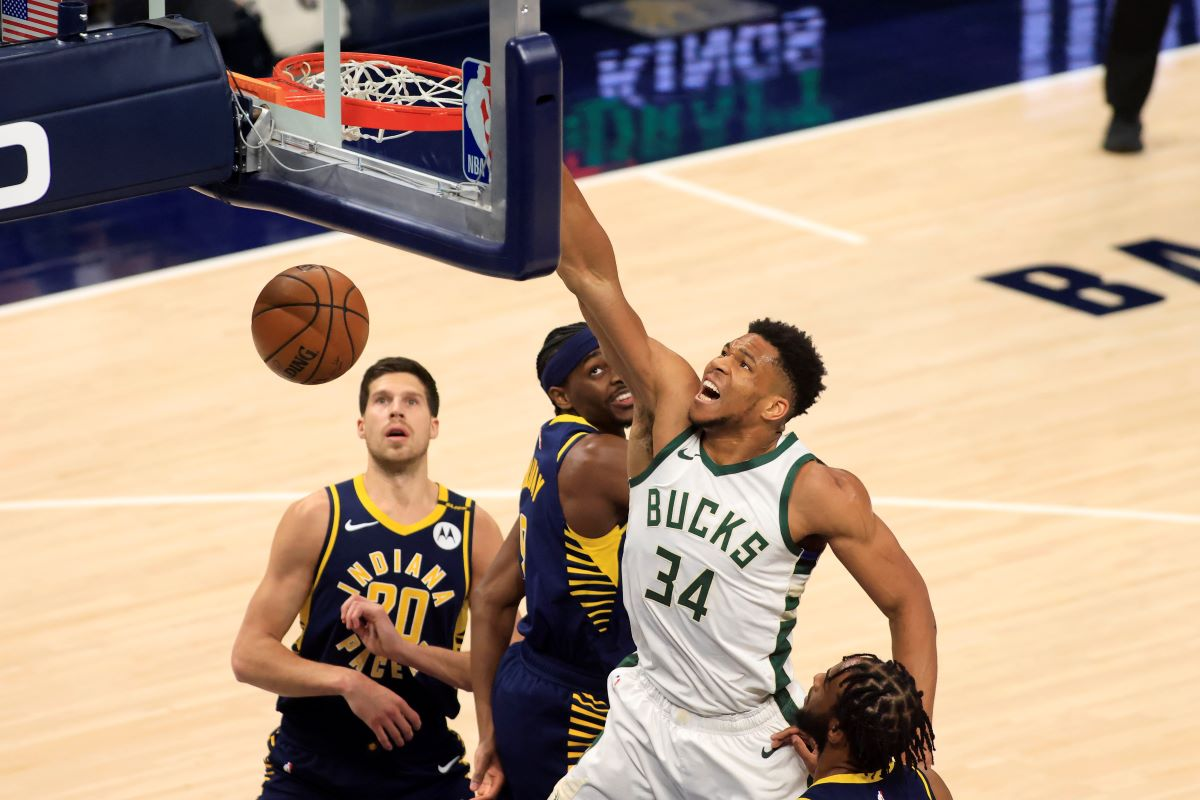 Giannis Antetokounmpo Is Breaking NBA Rules at the Free-Throw Line and the Indiana Pacers Have Evidence