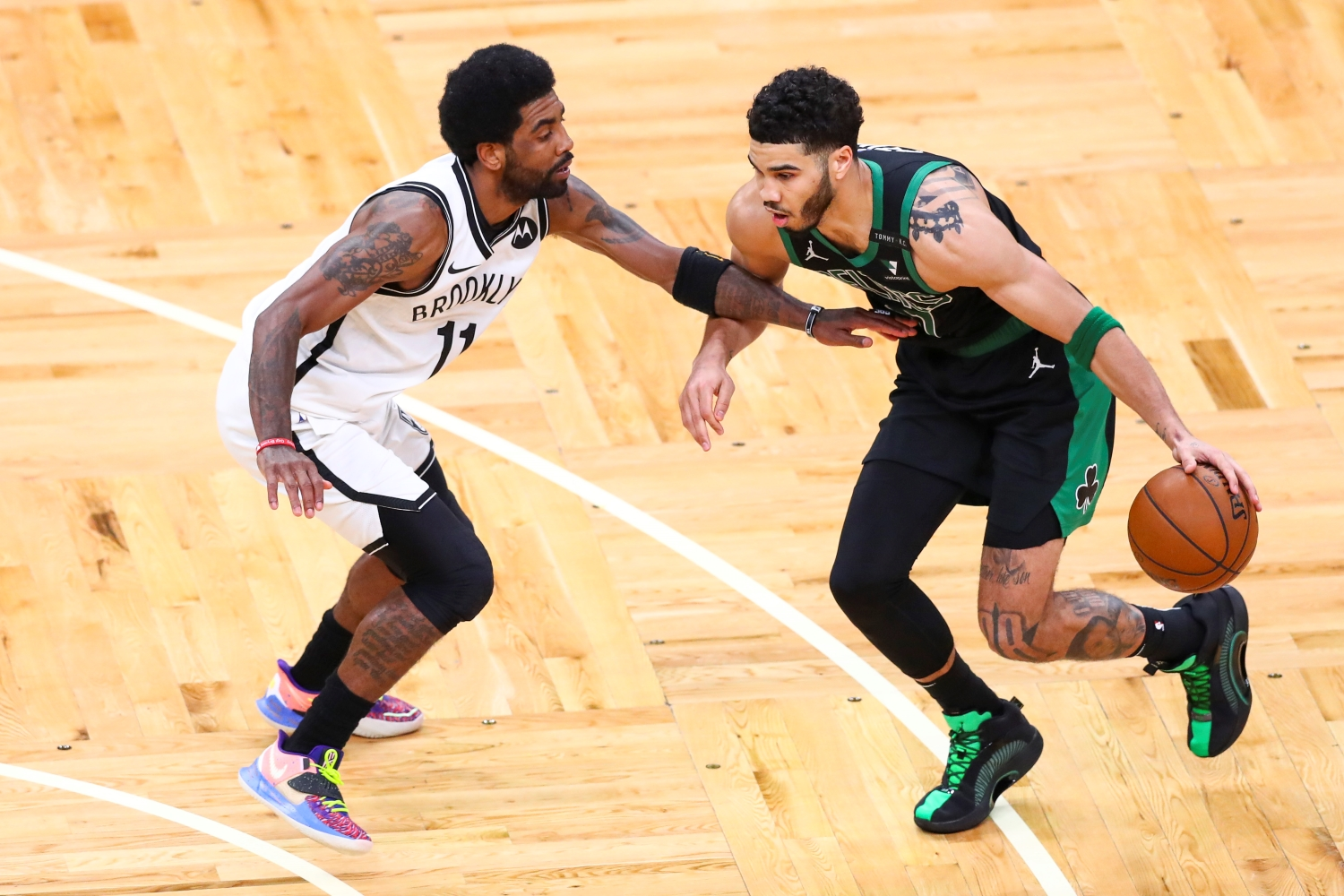 Jayson Tatum Ruined Kyrie Irving's Return to Boston by Joining Elite Company With Michael Jordan at the Right Time