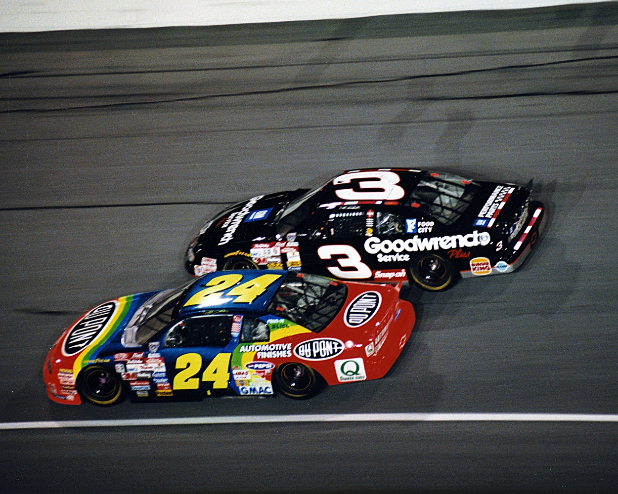Dale Earnhardt Sr. and Jeff Gordon Once Engaged in an Epic Battle at Darlington, Where Both Had Dominating Runs During Their Careers