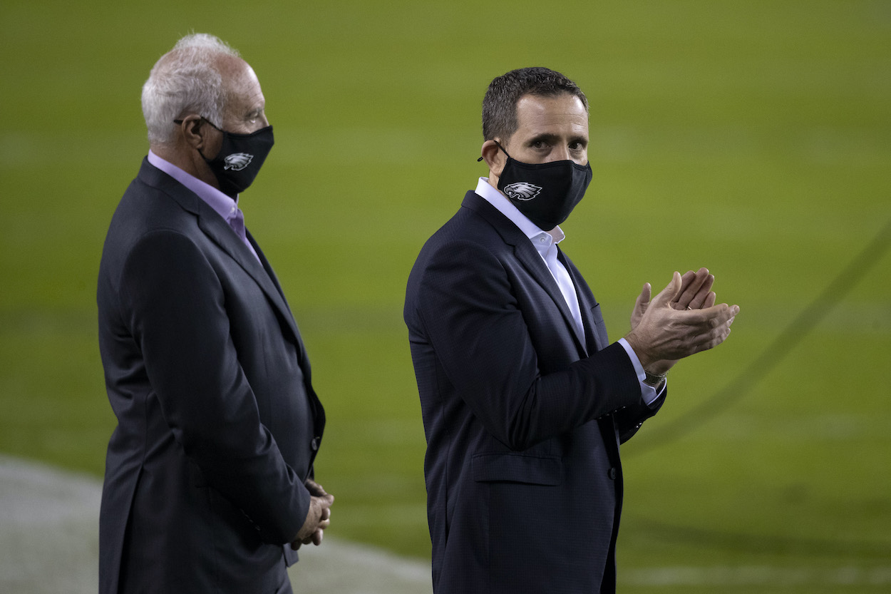 Howie Roseman was the laughing stock of the NFL draft for getting shunned by an Eagles scout, but what really led to that cringeworthy moment?