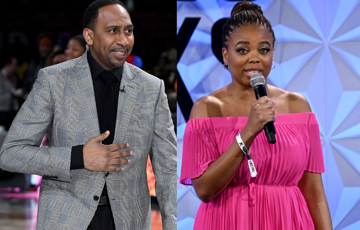 Stephen A. Smith's Commentary About a Set of Stairs Left Jemele Hill Inspired About Her Future