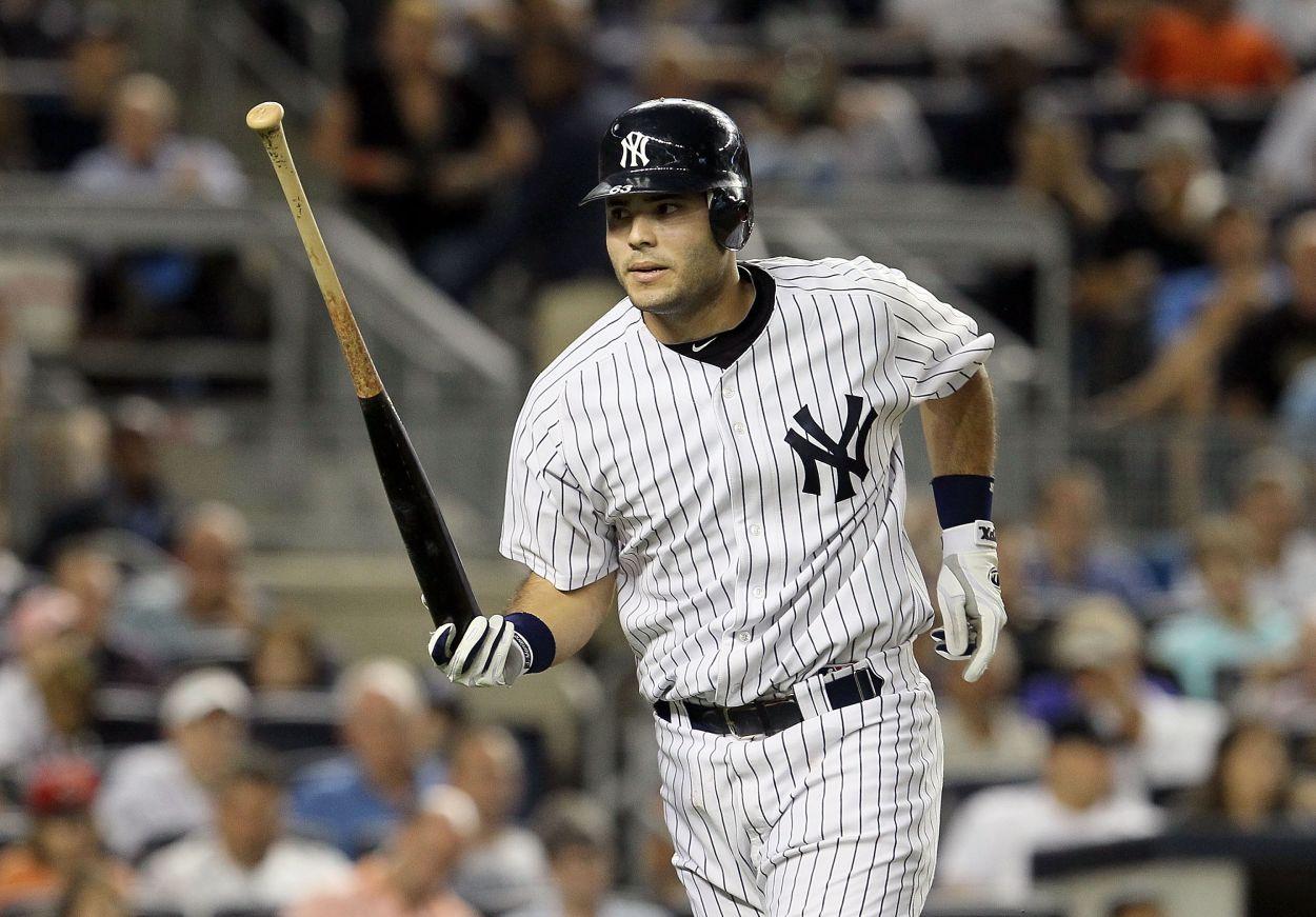 New York Yankees catcher Jesus Montero in 2011.