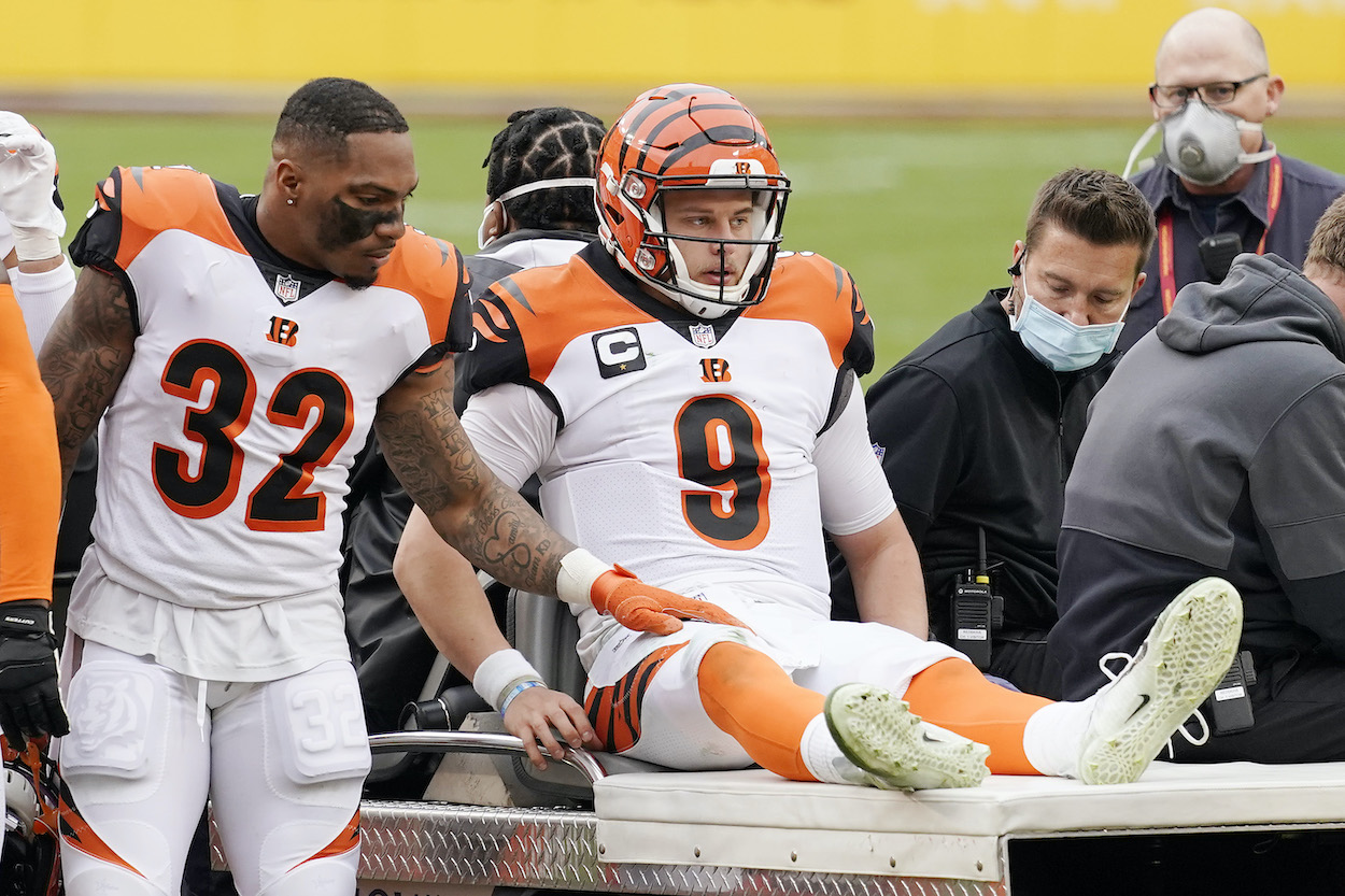 Joe Burrow and the Cincinnati Bengals Get Crucial News About the $36 Million QB's Injury