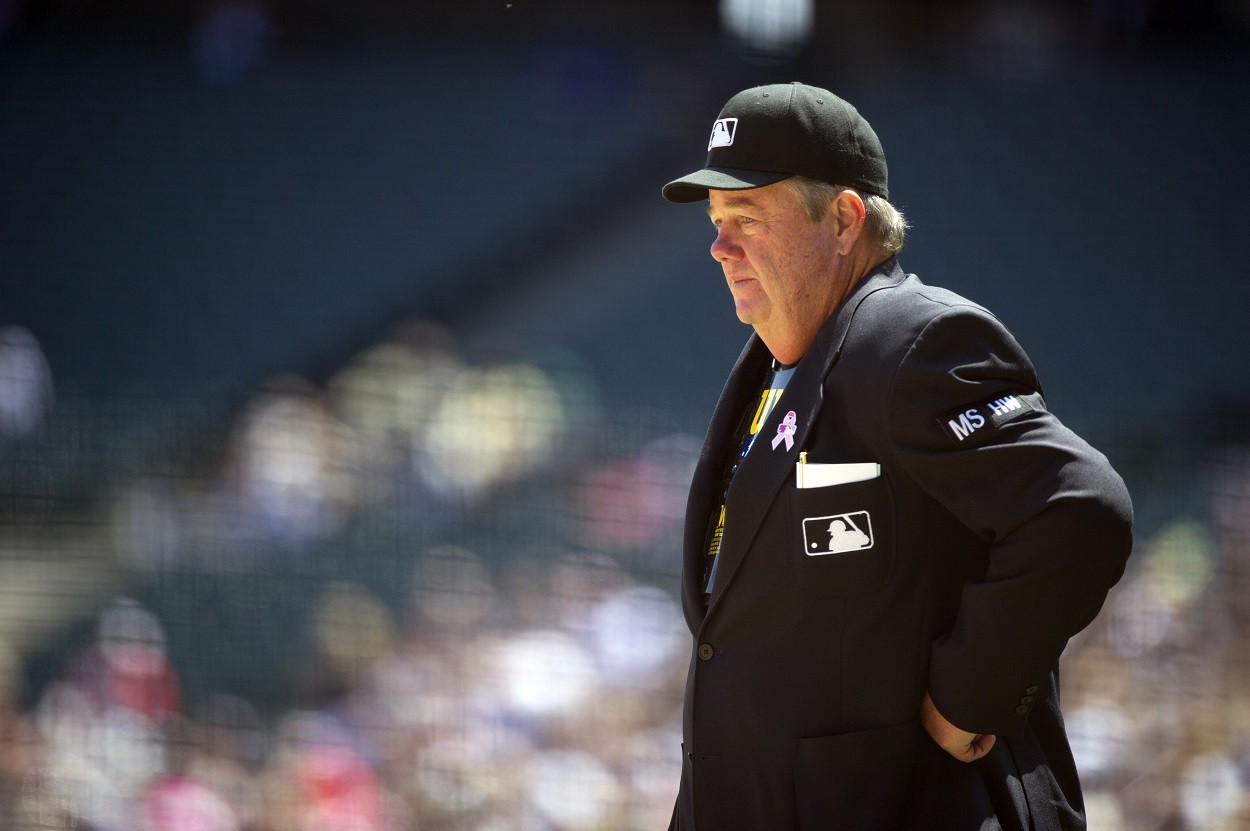Before Joe West Became a Record-Setting MLB Umpire, He Was a Record-Setting College Football Quarterback