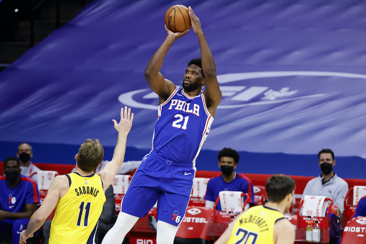 Joel Embiid First Learned How to Shoot a Basketball by Searching 'White People Shooting 3-Pointers' on YouTube
