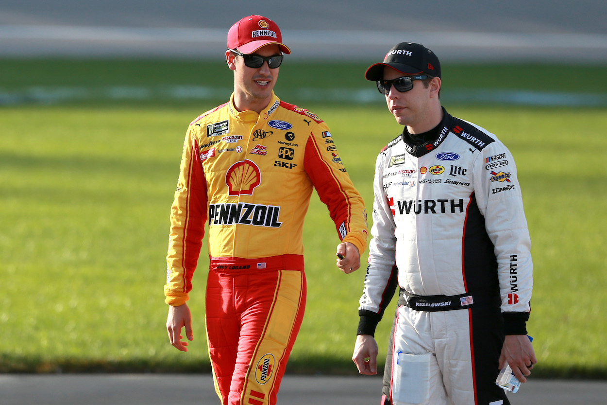 Joey Logano Candidly Admits News of Brad Keselowski's Potential Departure From Team Penske Didn't Surprise Him: 'You Could Kind of See the Writing on the Wall'