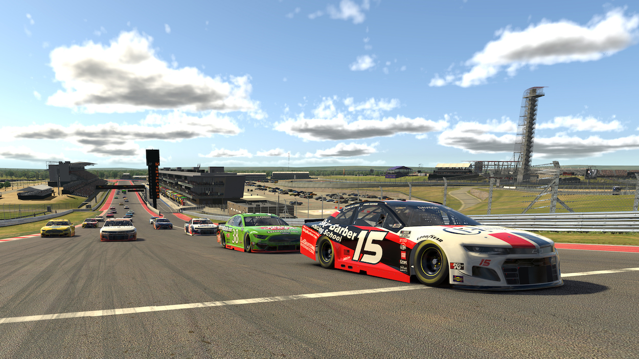Joey Logano Not Happy During iRacing at COTA After Receiving Black Flag Following Accident Where Another Driver Intentionally Wrecked Him