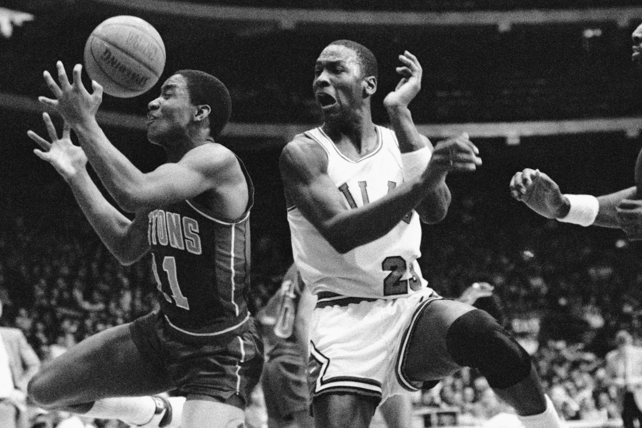 Michael Jordan Had Kerosene Poured Over His Toe After Hurting Himself While Chopping Wood With an Ax