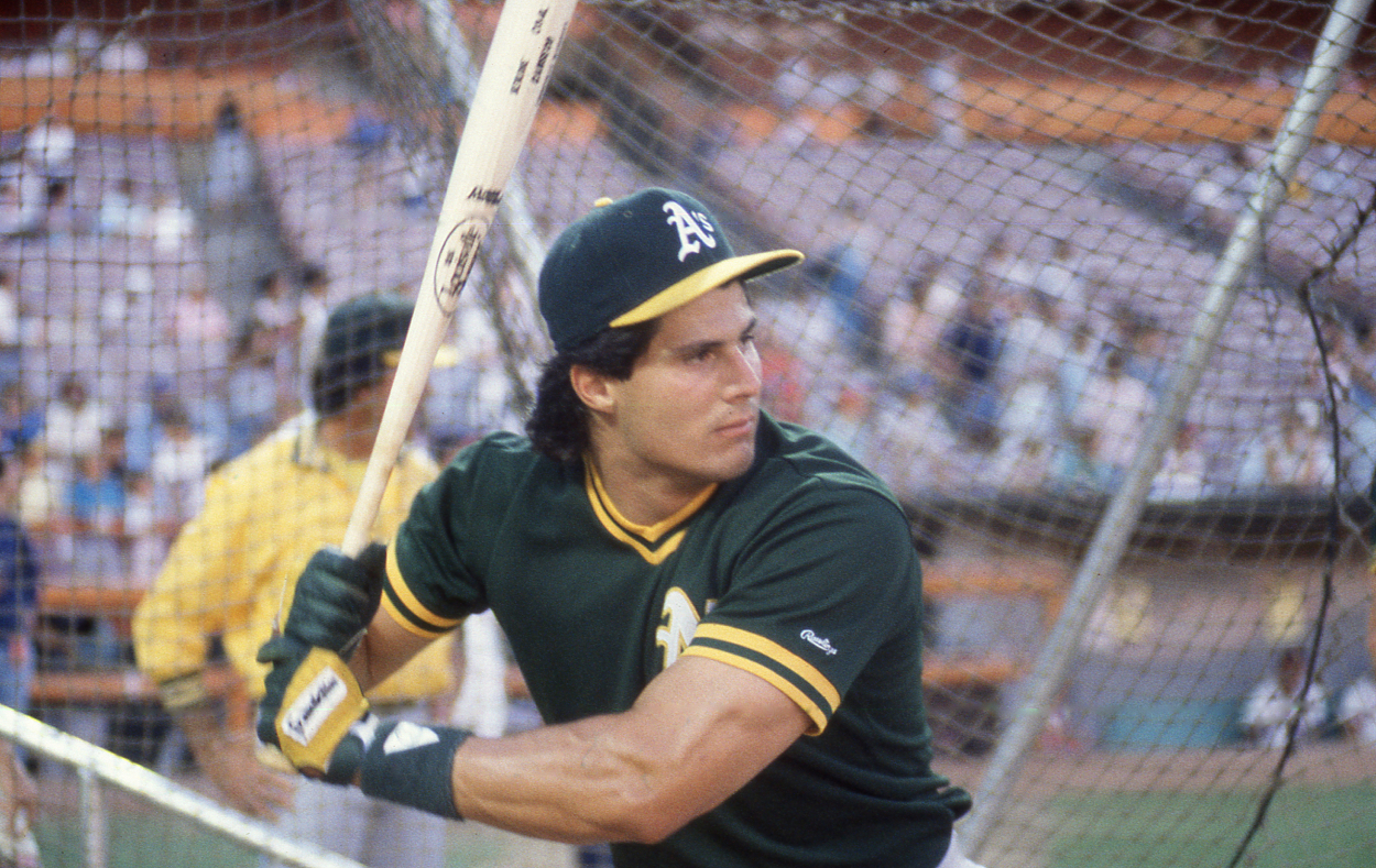 Jose Canseco Pinpoints the Exact Moment When Major League Baseball Wanted Him Gone