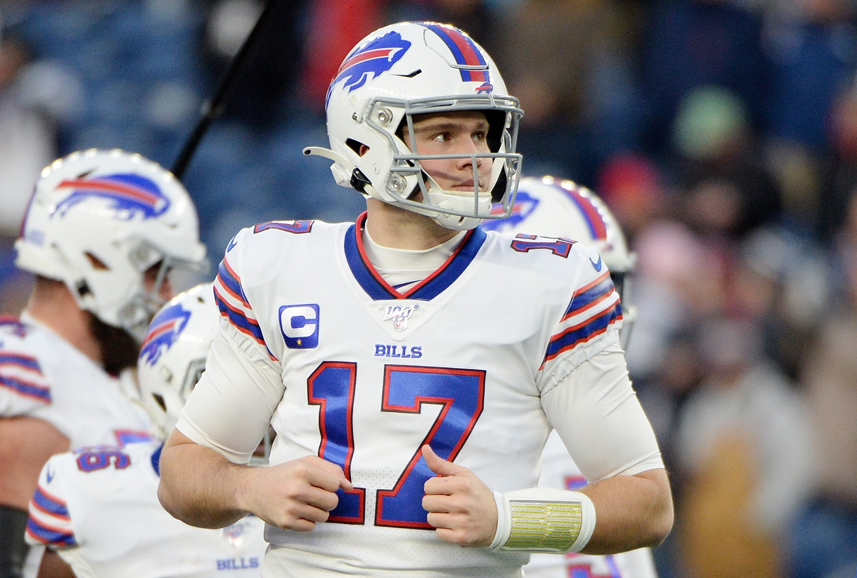 Josh Allen Remains Unbothered by Lack of Extension Talks With Bills: 'Least-Most Thing I'm Worrying About Right Now'