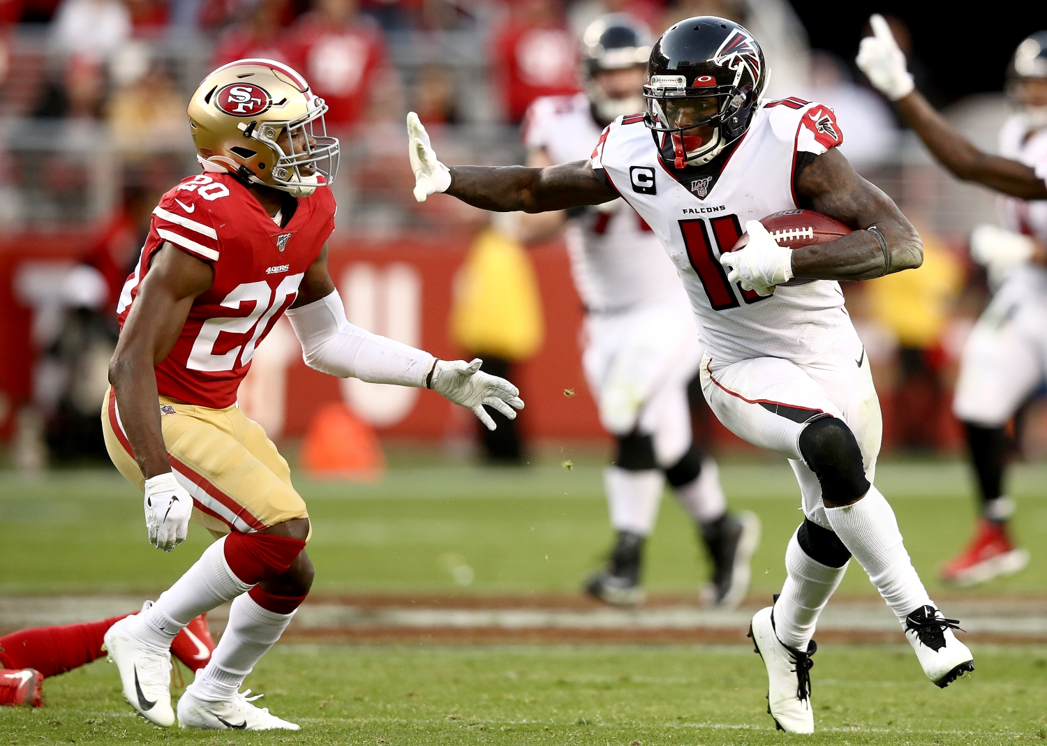 Julio Jones Trade Scenarios: Ranking the Best Fits for the Disgruntled Falcons Star