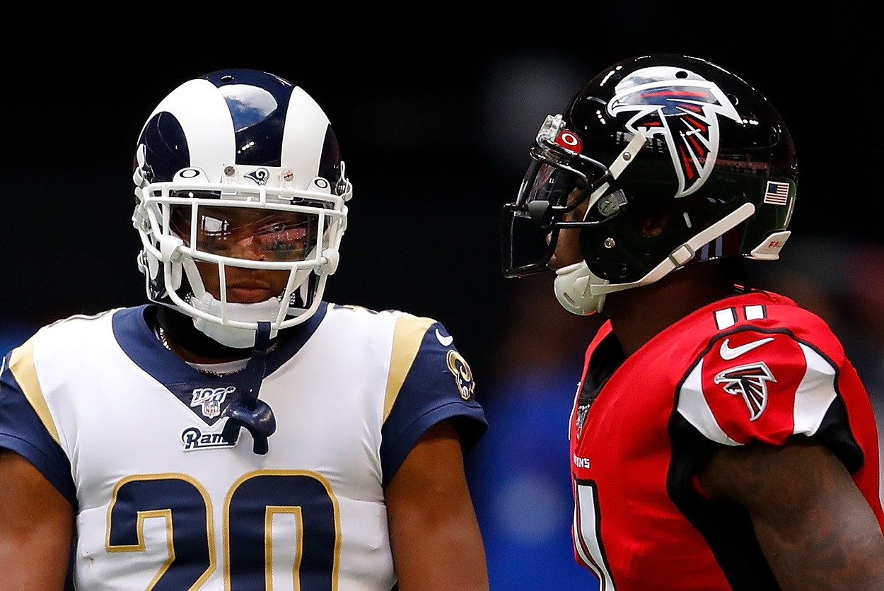 Julio Jones is Already Being Recruited by Jalen Ramsey: 'Rams Should Be a Place Superstars Should Want to Play Football'