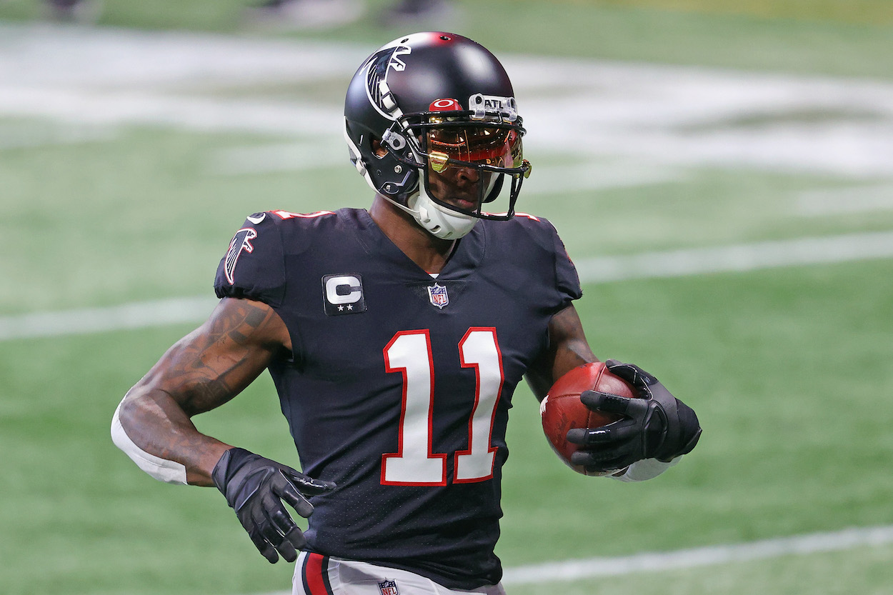 Julio Jones Takes Shot at the Dallas Cowboys After Admitting He's Done in Atlanta