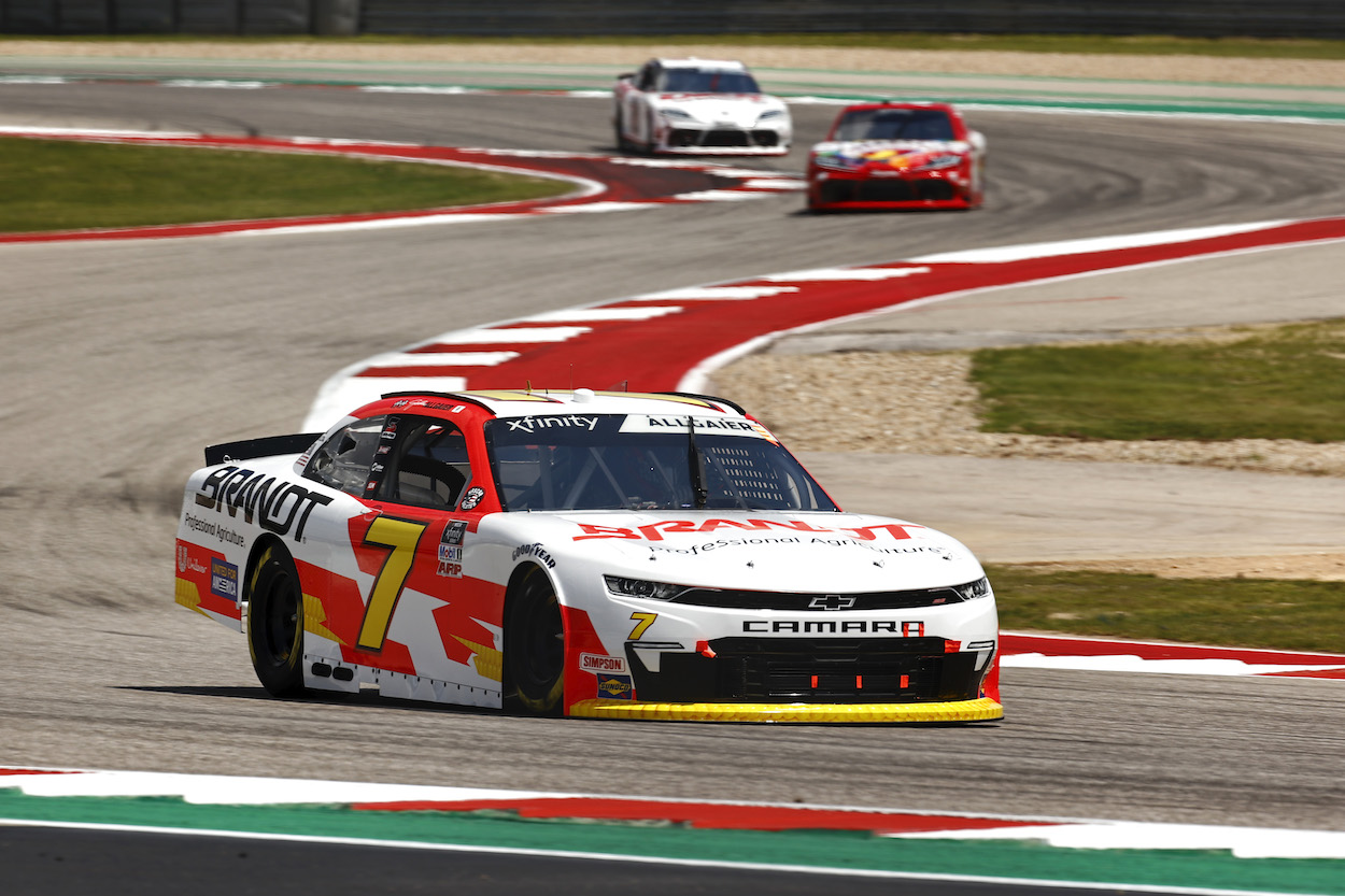 Justin Allgaier Explains Why He Went Incognito and Required a Secret Code Word for Racing Weekend at COTA