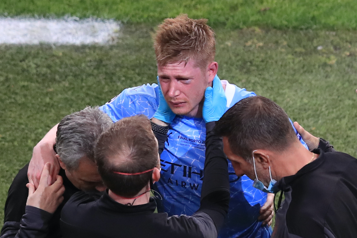 Kevin De Bruyne Broke His Face in the Champions League Final; Now He Might Miss the European Championship for Belgium