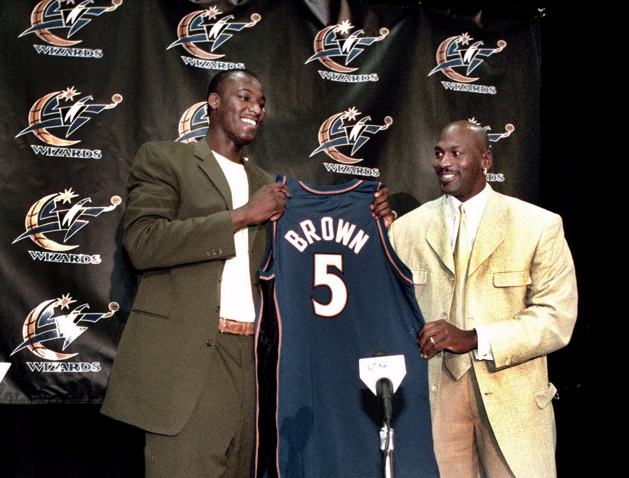 Kwame Brown Sneaks an Interesting Michael Jordan Nugget Into His Hour-Long, Expletive-Filled Rant on His Haters