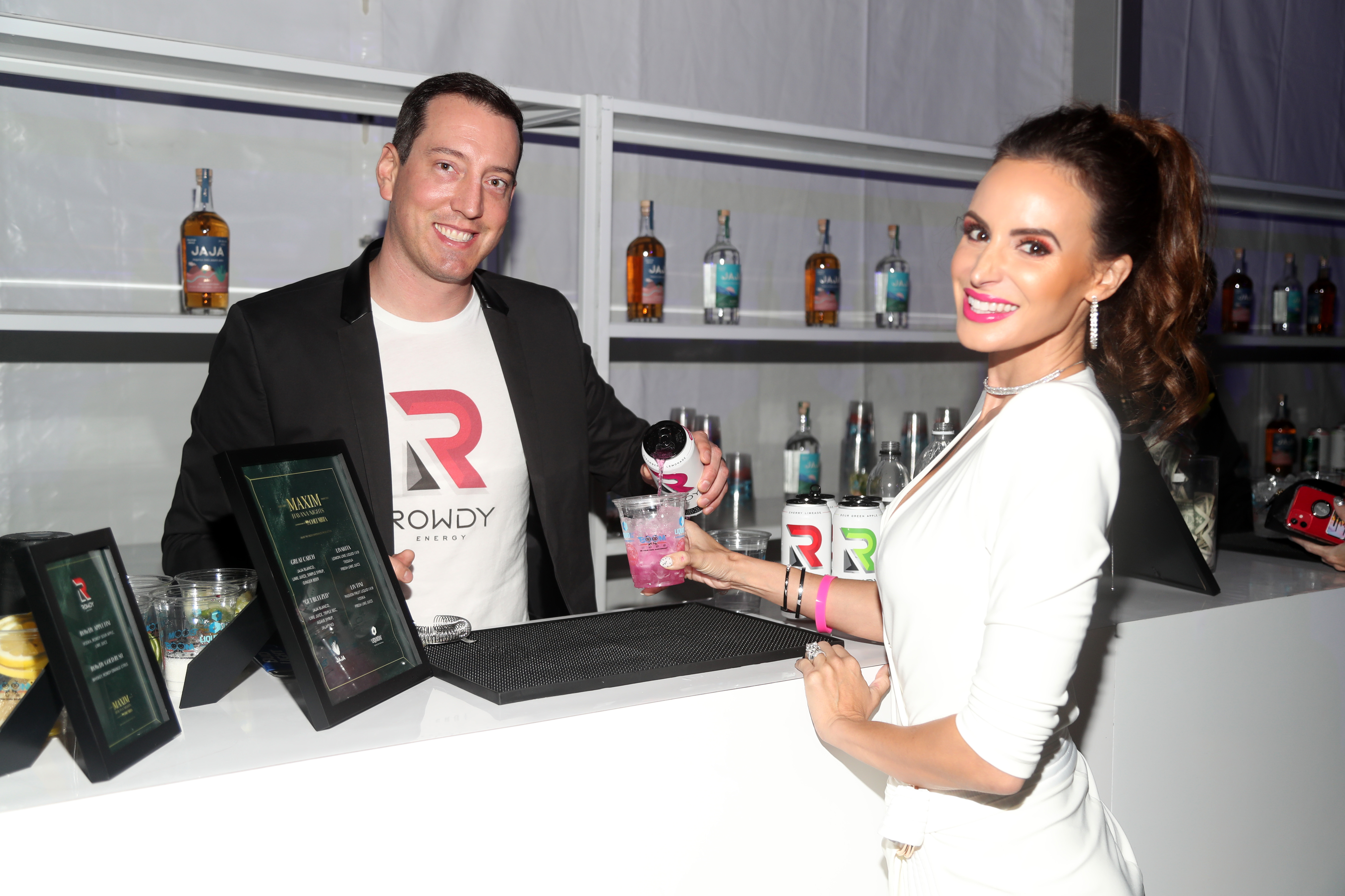 Kyle and Samantha Busch have been open about their own experiences and operate a foundation helping other couples through the in vitro fertilization process. | Cassidy Sparrow/Getty Images for MAXIM