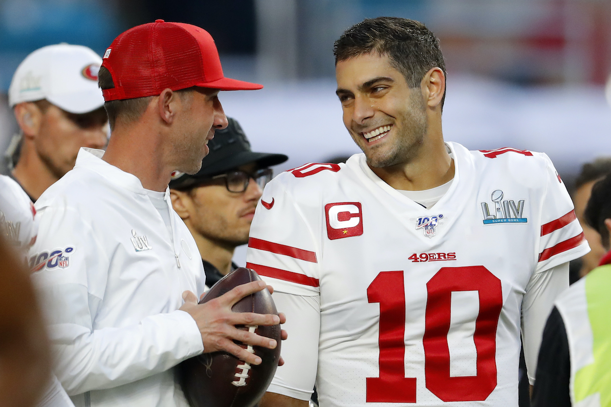 Jimmy Garoppolo Finally Breaks His Silence, Seems Surprisingly Unbothered by the 49ers' Master Plan to Replace Him