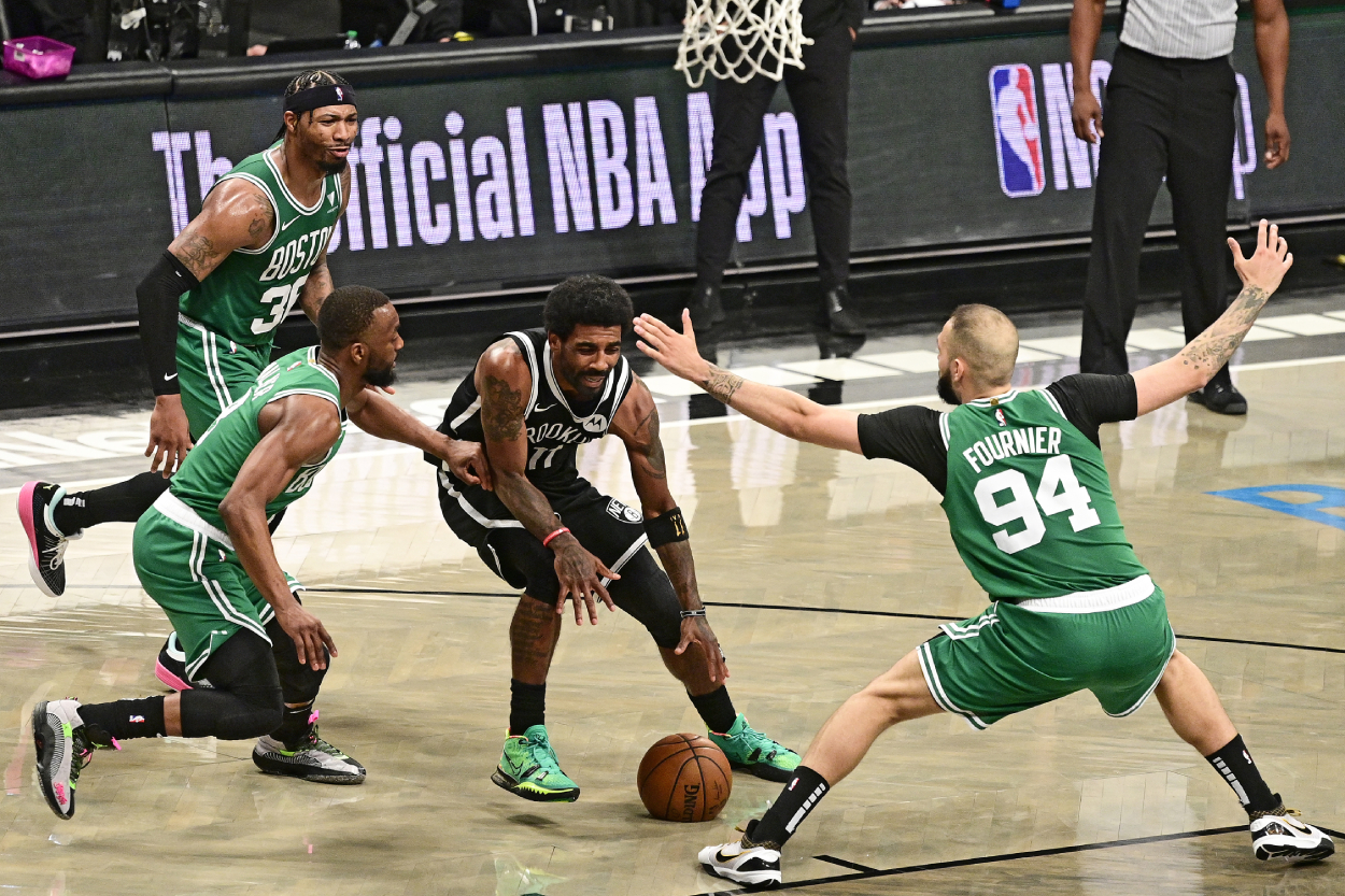 Kyrie Irving Returns to Boston, Putting the City's Reputation on the Line