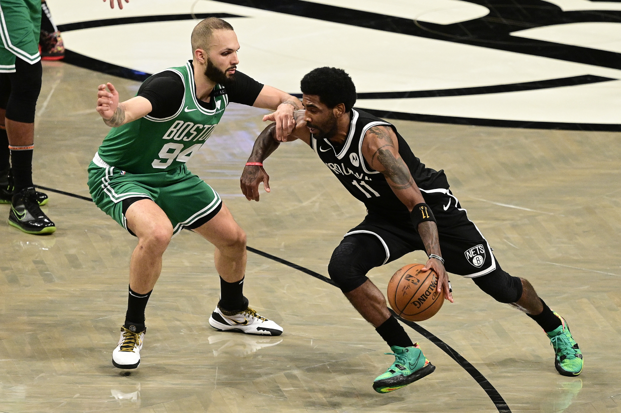 Kyrie Irving's Latest Comments Set Himself Up for an Even Rougher Return to Boston