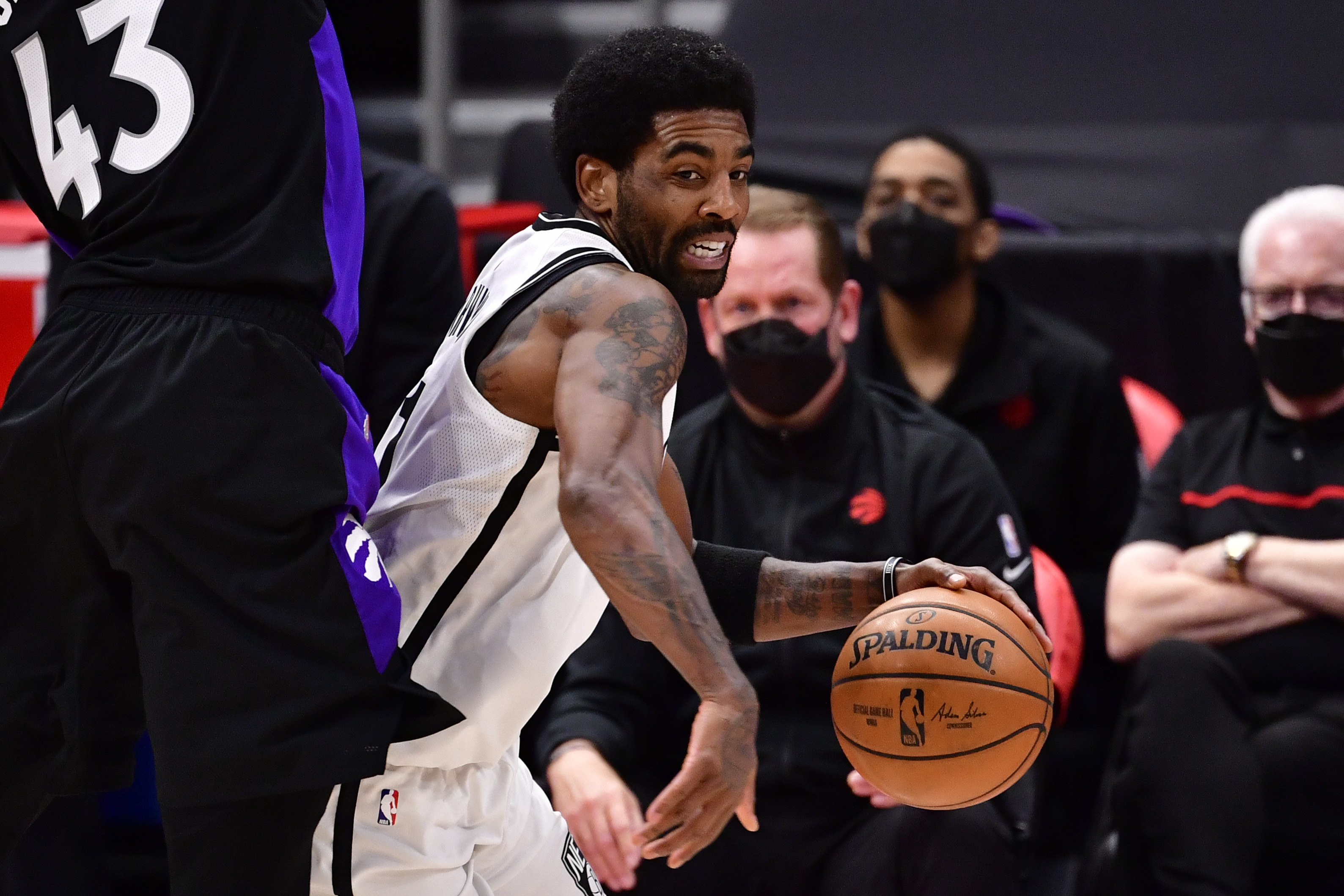 Kyrie Irving Gets Quick Lesson From Former Boston Celtics Player on Difference Between 'Racist' and 'Ruthless'