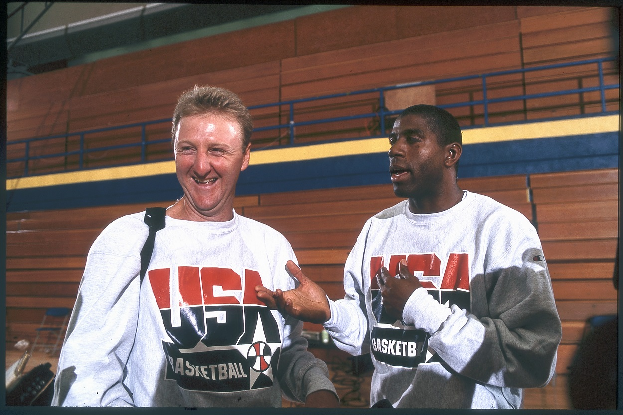 Magic Johnson and Larry Bird Were Actually Teammates Before Their Famous Rivalry Ever Began