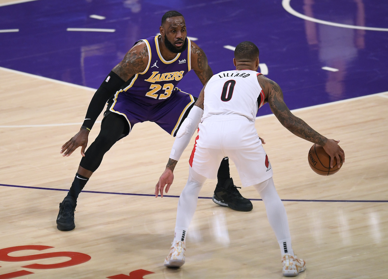 NBA Referee's Controversial Call May Have Saved LeBron James and the Lakers From the Play-In Game