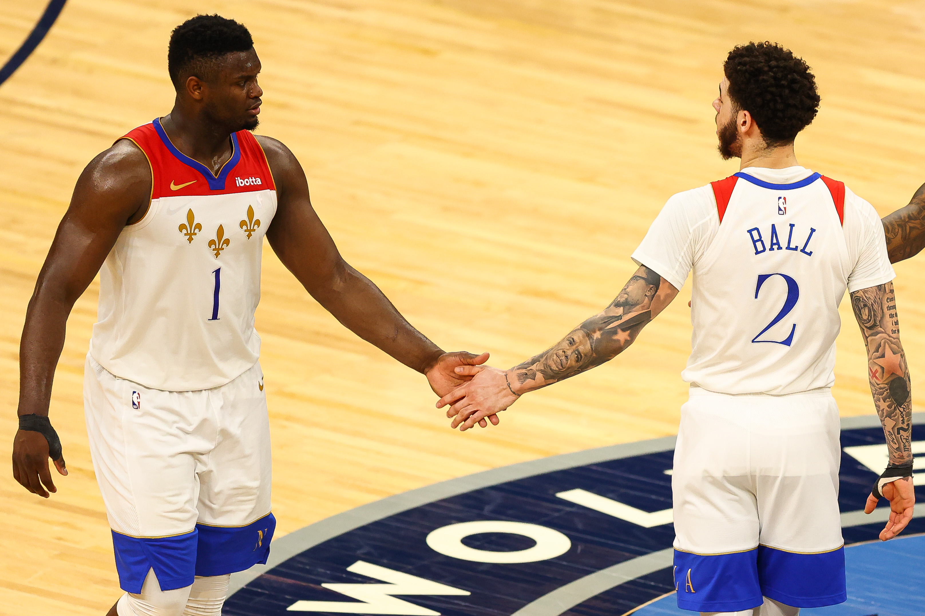 Lonzo Ball Made a Promise to Zion Williamson Then Went Out and Backed It Up