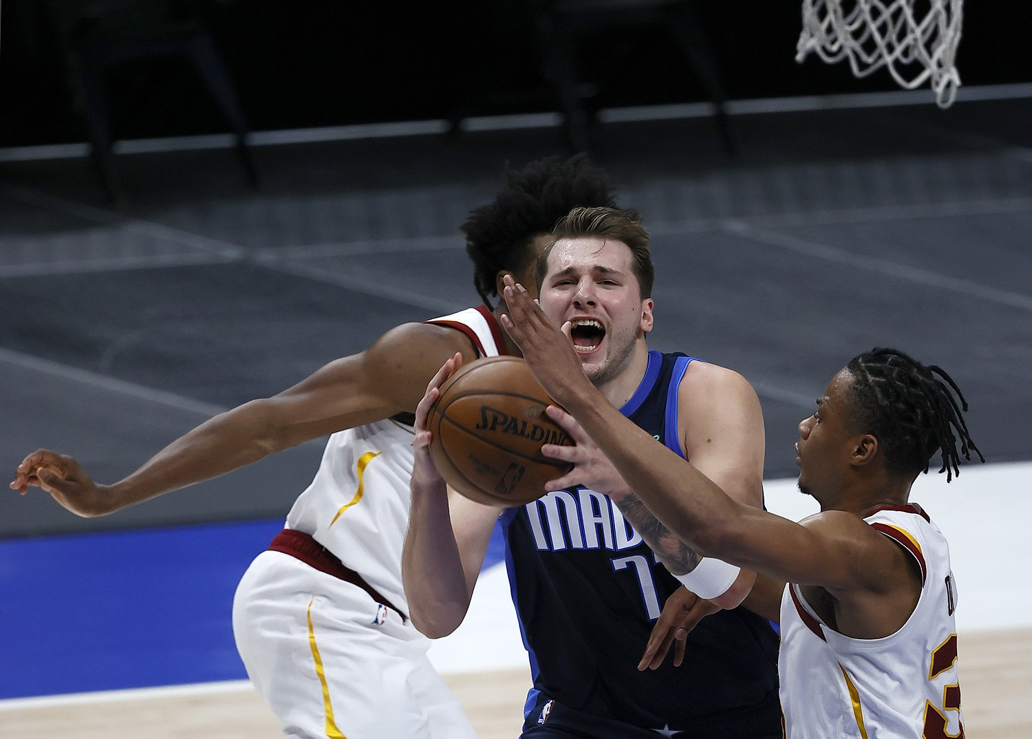 Dallas Mavericks star Luka Doncic is eligible to sign a contract extension this summer. He can pick up an extra $33.5 million by making the 2021 all-league team.   Tom Pennington/Getty Images