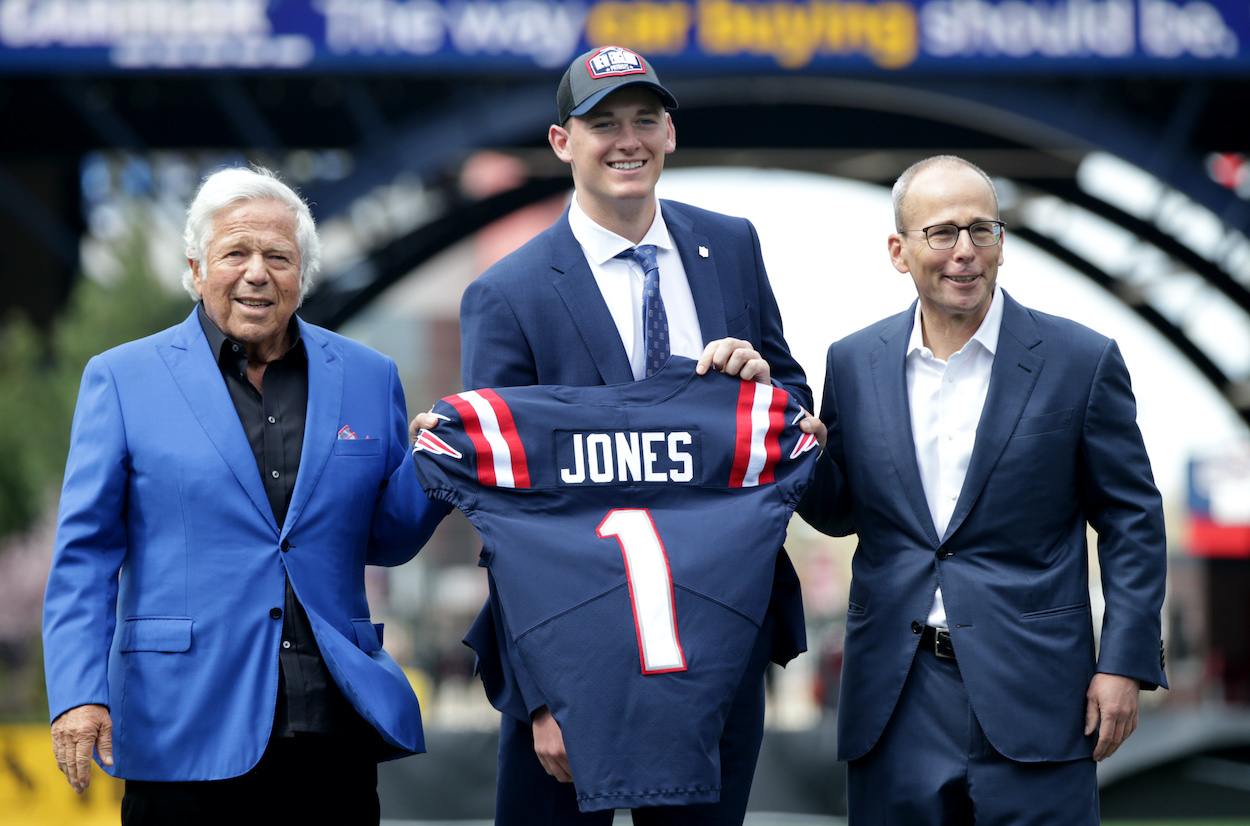 Why Bill Belichick Is Forcing New England Patriots Rookie QB Mac Jones to Wear No. 50