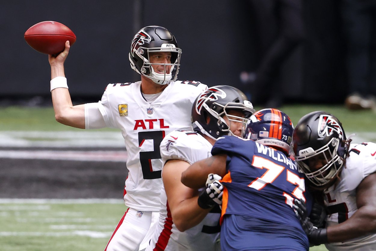 What if the Denver Broncos Replaced Peyton Manning With Matt Ryan in 2016?