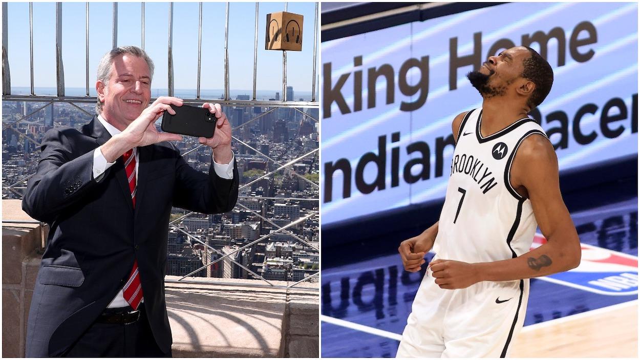 Did New York City Mayor Bill de Blasio Just Jinx the Brooklyn Nets?